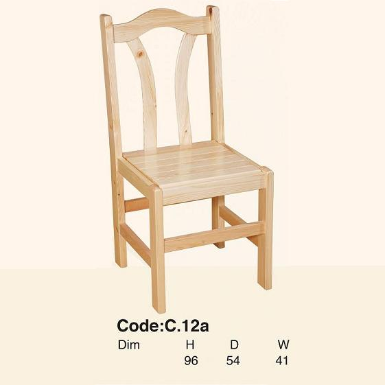 Pine Dining room chair
