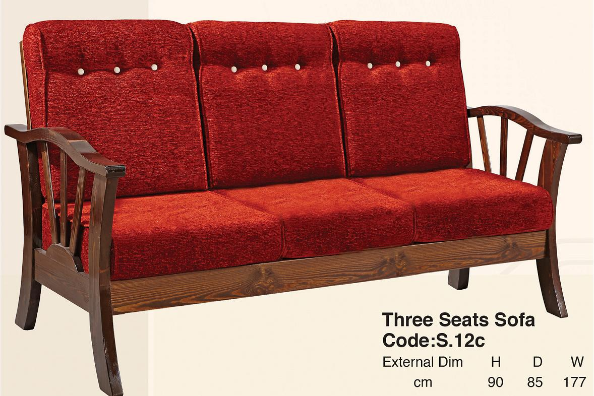 Three Seats Sofa
